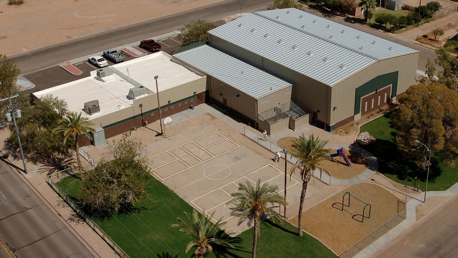 len colla recreation center gymnasium  u2013 architectural